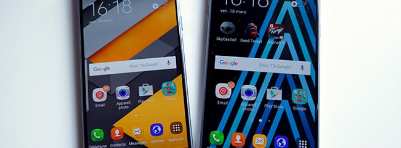 Samsung Galaxy A3 vs. A5 (2016) : Quelles différences ?