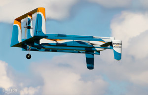 Drone Amazon Prime Air, design non définitif