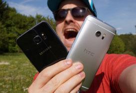 HTC 10 vs. Galaxy S7 (S7 Edge) : qui a la plus grosse ?