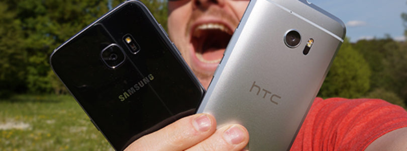 HTC 10 vs. Galaxy S7 (S7 Edge) : qui a la plus grosse ?