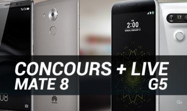 Concours : un Huawei Mate 8 à gagner + Live jeudi 12/05 20h