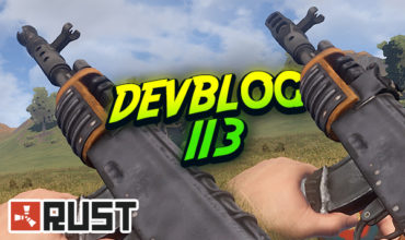 Rust : Devblog 113 – Muzzle Brake/Boost