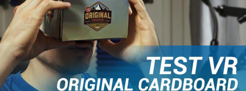Test vidéo : Original Cardboard, le cardboard amélioré