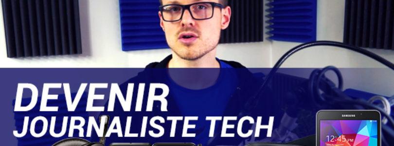 Comment devenir journaliste high tech ? (vidéo)