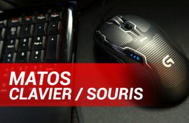 Matos : Clavier et souris (K300, G500S)