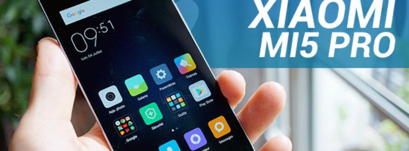 Xiaomi Mi5 Pro, vidéo de prise en main