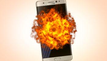 L'affaire du Note 7 explosif qui coûte cher