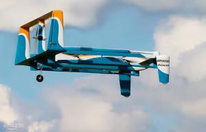 Drone Amazon Prime Air, design non définitif